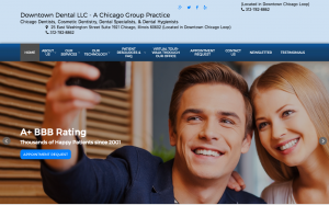 Dental Website and Logo By DreamRite Productions